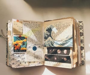 journal, aesthetic, and art image