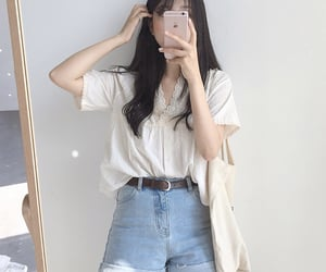 aesthetic, outfit, and uzzlang image