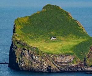 Island, nature, and europe image