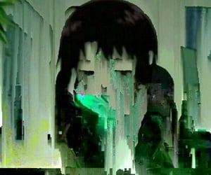 anime, aesthetic, and cybercore image