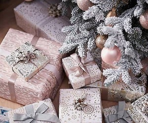 christmas, gifts, and present image