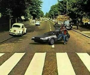 80's, beatles, and marty mcfly image