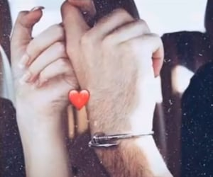 couple, رمزيات حب, and hand image