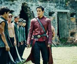 slaves, into the badlands, and post-apocalyptic image