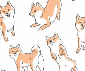 dog, drawning, and cute image