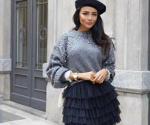 street style, belleza, and moda image