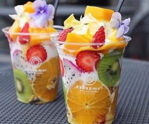 food, fruit, and sugar image