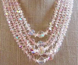 crystal necklace, etsy, and renaissance fair image
