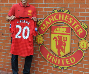 20, manchester united, and robin van persie image