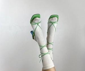 aesthetic, heels, and socks image