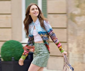fashion, lily collins, and outfit ideas image