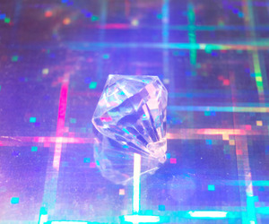 crystal, blue, and pastel image
