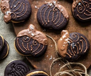 chocolate, butter, and Cookies image
