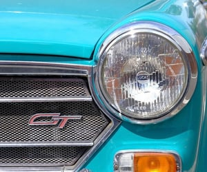 teal, automobiles, and blue image