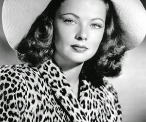 beauty, classic, and Gene Tierney image