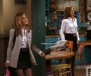 friends, fashion, and rachel green image
