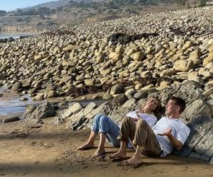 beach, man, and patrick dempsey image