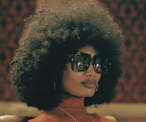 accessories, Afro, and black people image