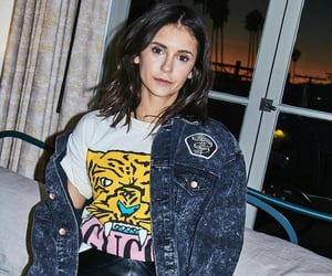 denim, Nina Dobrev, and fashion image