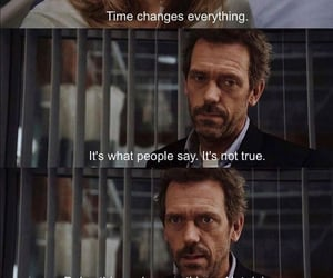 dr house and time image