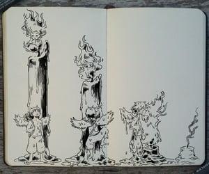 anime, comic, and traditional art image