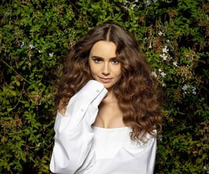 girl, wow, and lily collins image