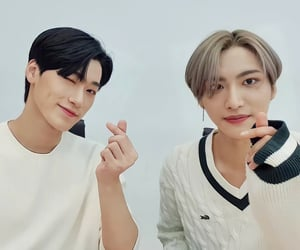 kpop, san, and seonghwa image