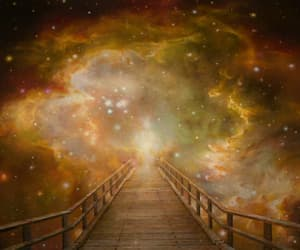 mesmerizing, the bridge, and ''the light'' by akiane. image