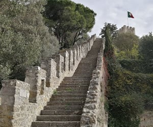 castle, lisbon, and photo image
