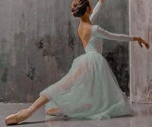 ballerina, ballet, and bun image