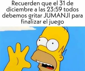 happy new year, Homero, and memes image