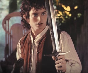 elijah wood, frodo baggins, and the lord of the rings image