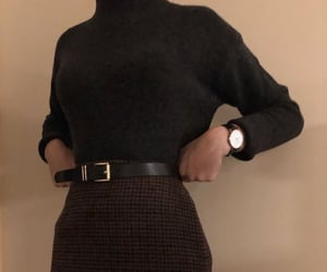 aesthetic, fashion, and dark academia image
