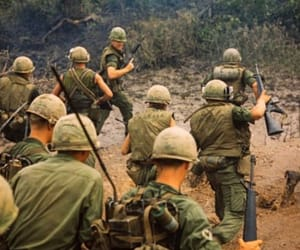 army, soldiers, and vietnam war image