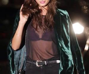brunette, fashion, and celebrity image