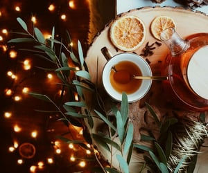 tea, tea time favors, and winter image