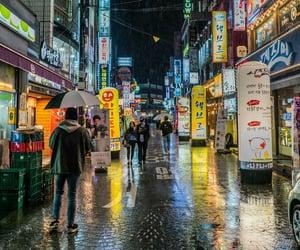 city, seoul, and 한국 image