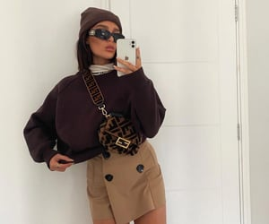 brown, fashion, and outfits image