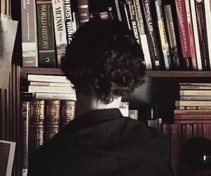 aesthetic, books, and literature image