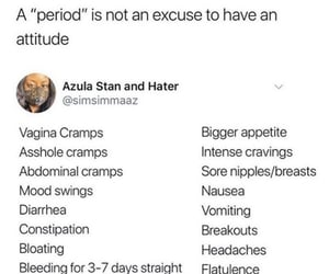 girls, periods, and women image