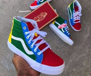 style, coloures, and sneakers image