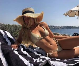 bikini, summer, and girl image