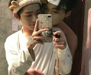 gay couple, ulzzang couple, and cute image