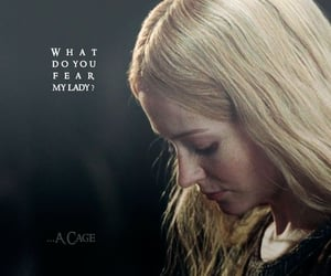 eowyn, rohan, and middle earth arda image