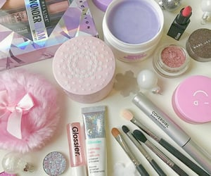 makeup, marc jacobs beauty, and Maybelline image