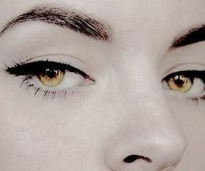 eyes, gold, and gold eyes image
