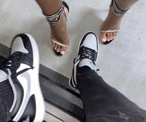 fashion, jordan, and girl image