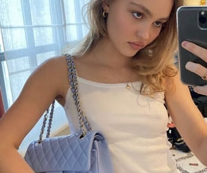 lily rose depp and model image