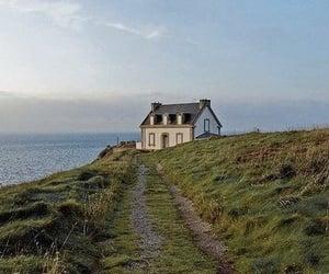 cape, coast, and house image
