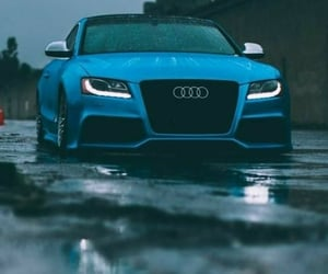 audi, car, and awesome image